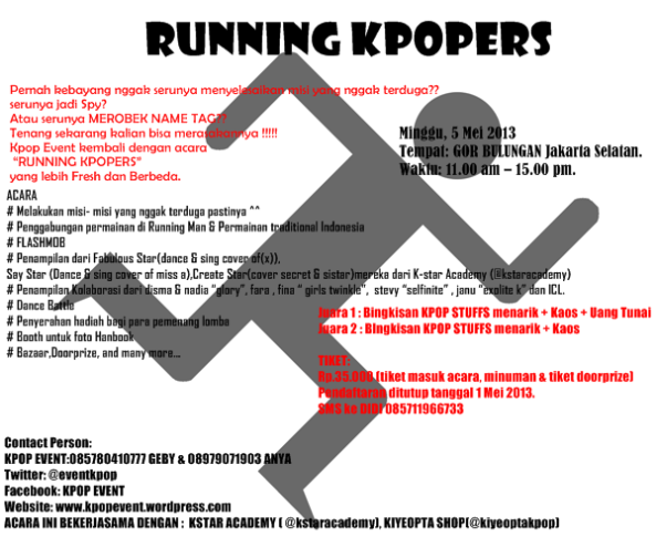 RUNNING KPOPERS